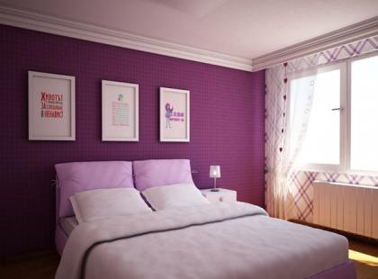 Jak używać fioletu we wnętrzach?