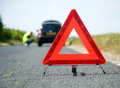 Jak używać trójkąta ostrzegawczego?