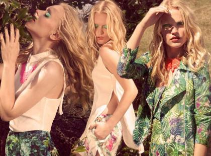 Jak w palmiarni - Bershka na wiosnę i lato