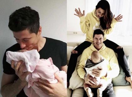 """Jak wyglądały pierwsze tygodnie po narodzinach córki? """"Było trudno, nie wiedziałem, co robić"""" – wyznał Robert Lewandowski"""