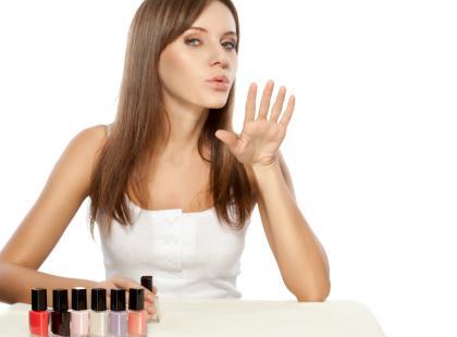 Jak wysuszyć szybko paznokcie