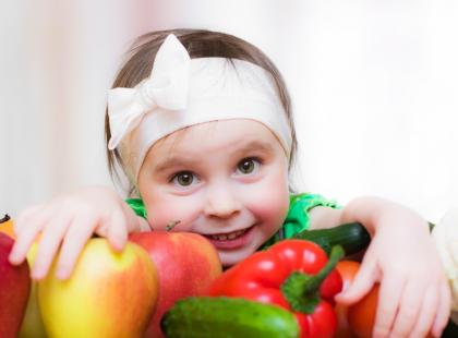 Jak zachęcić dzieci do jedzenia warzyw?