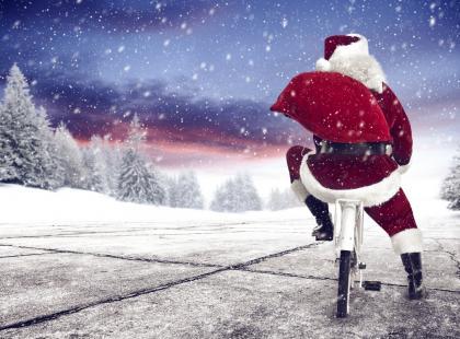 Jak zapakować rower pod choinkę?