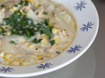 Jak zrobić corn chowder?