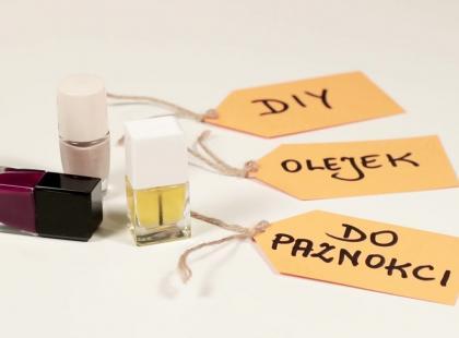 Jak zrobić odżywczy olejek do paznokci - DIY