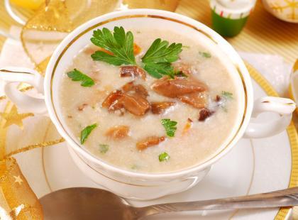 Jak zrobić zupę grzybową na barszczu?
