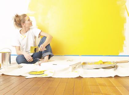 Jaką farbą pomalować mieszkanie?