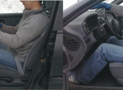 Jaka pozycja do jazdy samochodem jest najbardziej bezpieczna?