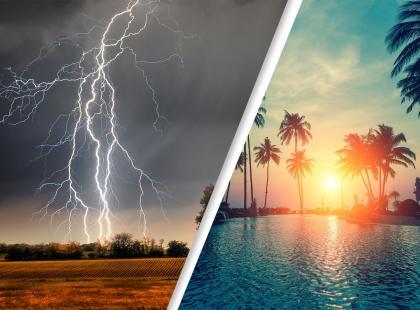 Jaki będzie pierwszy tydzień sierpnia? Sprawdź prognozę pogody i nie daj się zaskoczyć!