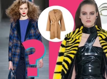 Jaki płaszcz powinnaś wybrać tej jesieni?