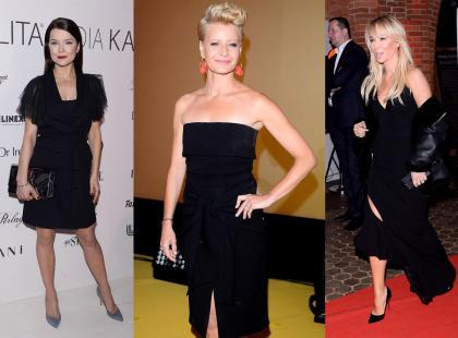 Jakie buty do czarnej sukienki? Zobacz, co wybierają gwiazdy!