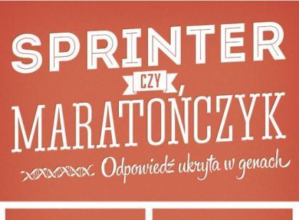 Jakie są różnice w bieganiu maratończyka i sprintera? [infografiki]