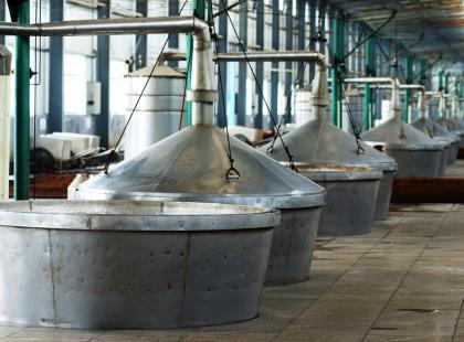 Dominującymi trunkami w Chinach są wódka i wino ryżowe.
