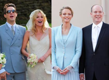 Jamie Hince i Kate Moss vs Charlene Wittstock i Książę Albert II