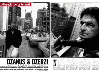 Janusz Głowacki i Jerzy Kosiński - Dżanus & Dżerzi
