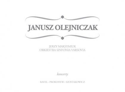 """""""Janusz Olejniczak - Koncerty"""" - od dziś w sklepach"""