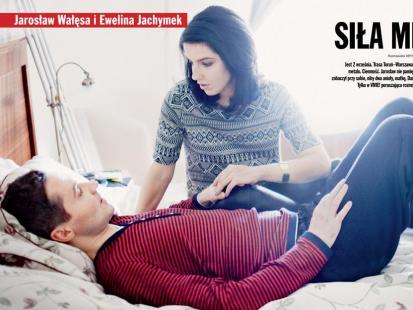 Jarosław Wałęsa i Ewelina Jachymek - Razem walczyliśmy o życie