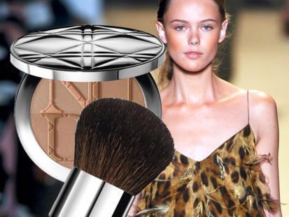 Jasny brąz - trendy w makijażu