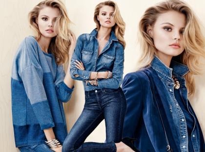 Jeans w szykownym wydaniu według H&M