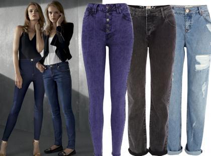 Jeansy na wiele sposobów w jesiennym River Island