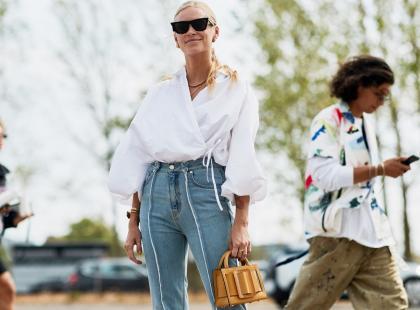 Jeansy z wysokim stanem to must have! 10 najmodniejszych modeli