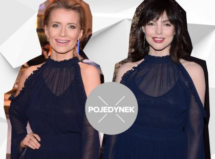 Jedna sukienka i 2 gwiazdy. Która lepiej ją wystylizowała?
