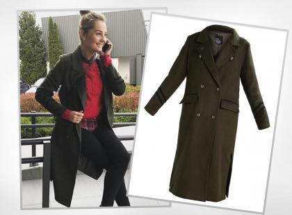 Jedna z najlepiej ubranych Polek w płaszczu za 299 zł. Wiemy, gdzie możecie go kupić!