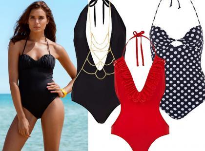 Jednoczęściowe kostiumy kąpielowe na lato 2013