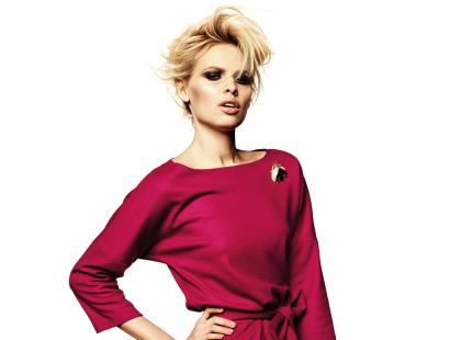 Jednokolorowe sukienki na jesień 2012!