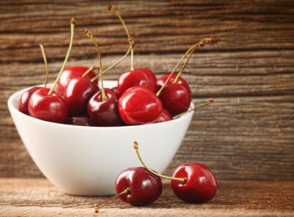 Jedz czereśnie, będziesz zdrowa!