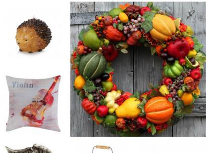 Jesień w domu - modne dodatki
