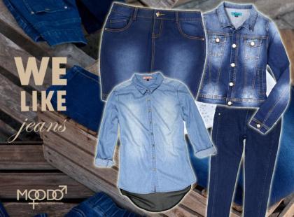 Jesień w kolorze niebieskim, czyli dżinsowa kolekcja Moodo