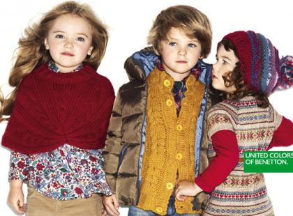Jesienna kampania United Colors of Benetton dla dzieciaków