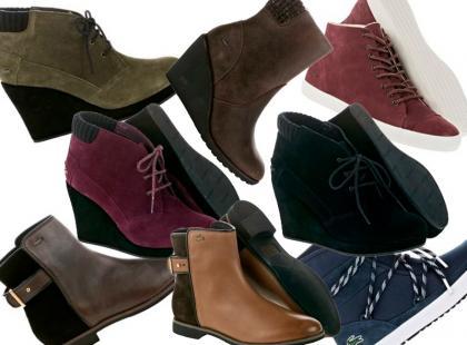 Jesienne obuwie w sportowym szyku od Lacoste