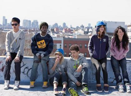 Jesienny adidas Originals w wydaniu freestyle`owym