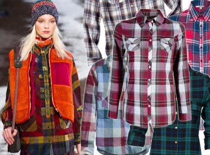 Jesienny must-have: modne koszule w kratę