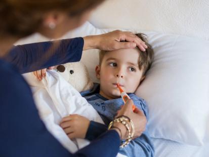 """""""Jeśli to tylko mała gorączka i katar, puszczam dziecko do przedszkola..."""""""