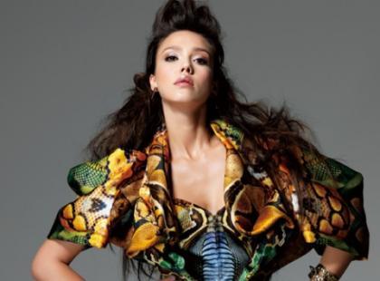 Jessica Alba dla Elle Korea