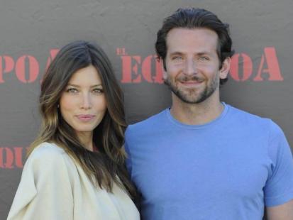 """Jessica Biel i Bradley Cooper na przemierze filmu """"The A-Team"""""""