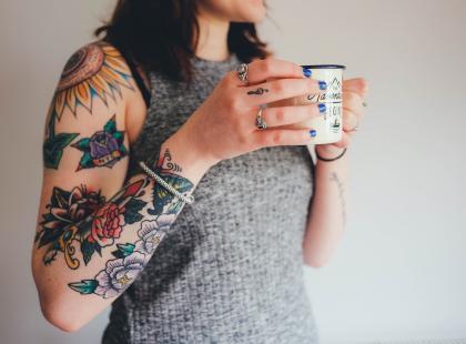 Jest bardzo charakterystyczny. Tatuaż rękaw - czy to opcja dla ciebie?