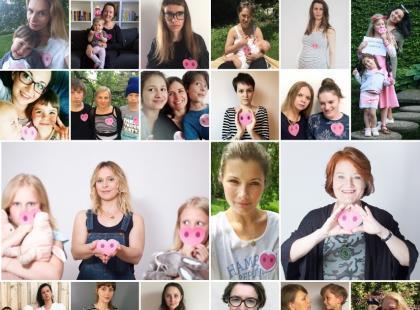 """""""Jestem matką, współczuję"""" – Polki z ryjkami w kształcie serc protestują w ważnej sprawie"""