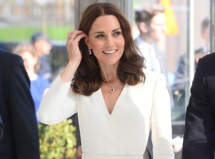 """""""Jesteś piękna!"""", """"Jesteś idealna"""", skandowali polscy fani. Co księżna Kate odpowiedziała na komplementy? Jej rekacja nas urzekła"""