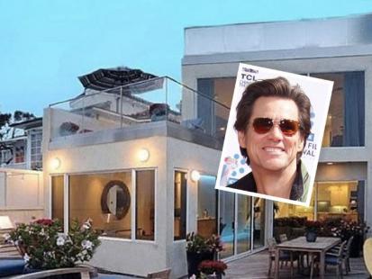 Jim Carrey sprzedał dom w Malibu!