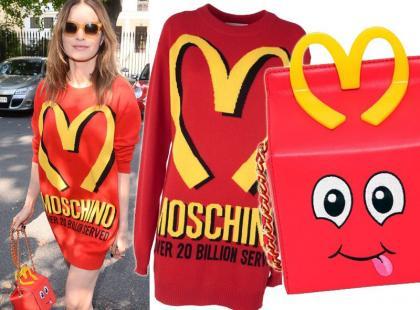 Joanna Horodyńska nosi zabawne ubrania od Moschino