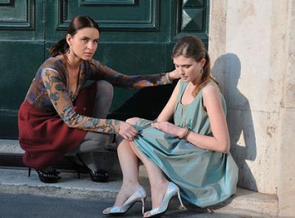 Joanna Horodyńska w plenerowej sesji z Prima Moda