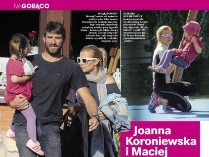 Joanna Koroniewska i Maciej Dowbor wrócili do siebie!