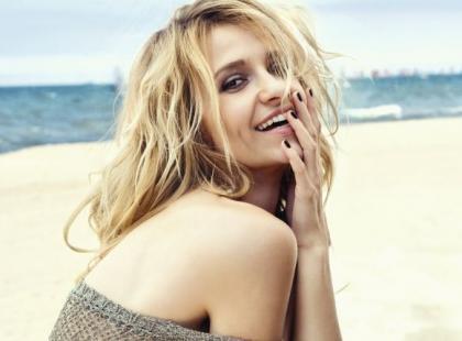 Joanna Koroniewska kusi perfekcyjnym ciałem na plaży