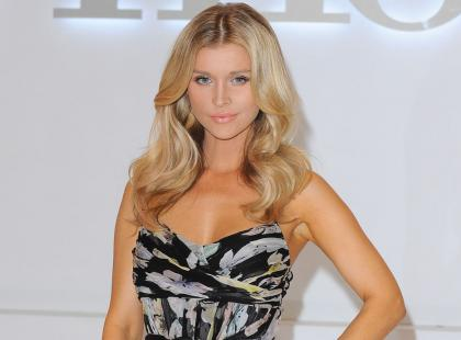 "Joanna Krupa na konferencji ""Top Model"""