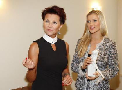 Joanna Krupa spotkała się z Jolantą Kwaniewską