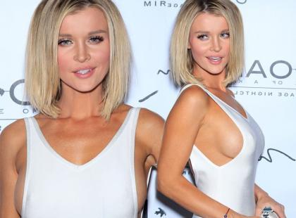 Joanna Krupa w nowej fryzurze i seksownej sukience